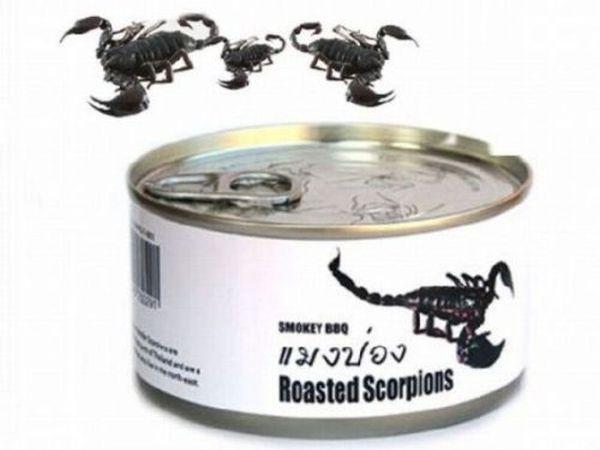 Копченые скорпионы