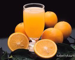 Польза: содержащийся в соке витамин С повышает иммунитет, защищает от многих болезней, среди которых катаракта, рак. Апельсиновый сок – отличный источник фолиевой кислоты, необходимой для предотвращения дефектов развития плода. Калории: 115 ккал в 250 г. продукта.