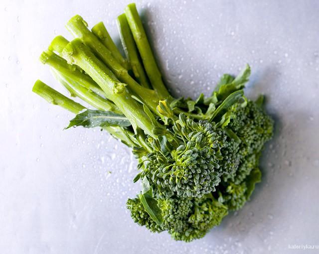 Энергетическая ценность: 43 ккал  Полезные элементы: витамины А, С, кальций, железо, фолиевая кислота, клетчатка