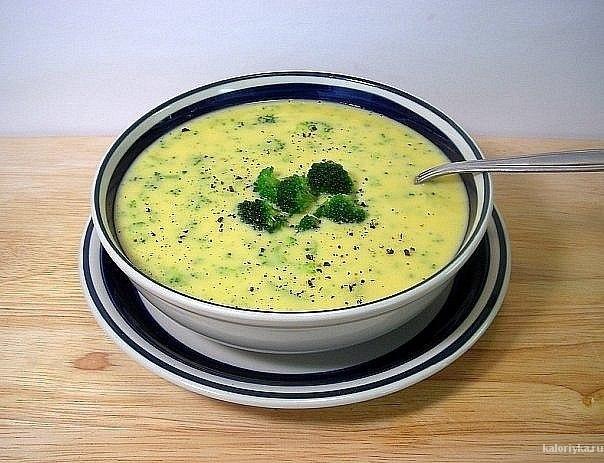 На 100 гр супа 31 ккал.