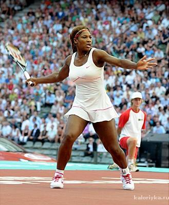 Не все спортсмены граничат с тучностью по теории ИМТ. Серена Уильямс в отличной форме, и ее ИМТ соответствует. При росте 180 см ее вес 68 кг – это означает, что ее мышечная масса достаточно развита, а вот жира немного.