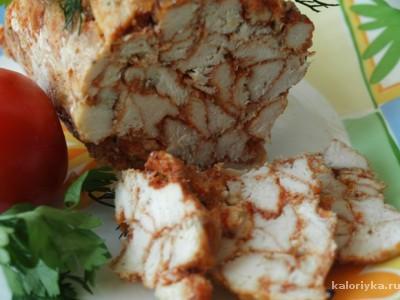 Выкладываем на блюдо  Нарезаем ОСТРЫМ ножом и наслаждаемся вкуснятиной.