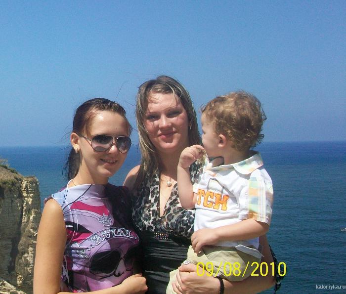 я с сестрой  и сыном прошлым летом(75кг),какой ужас!!!