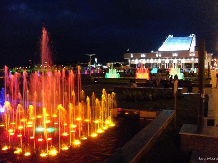 А вот наша Казань. По дороге домой с фестиваля.