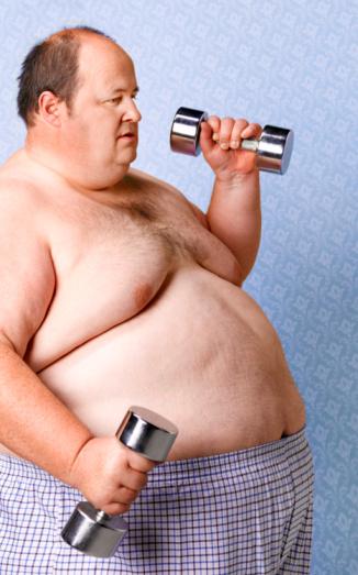 Как похудеть мужчине в возрасте