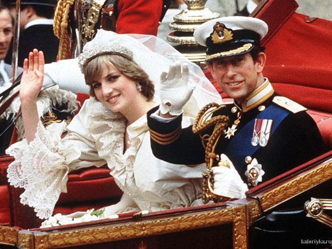 Принцесса Диана и принц Чарльз: история королевской любви ...