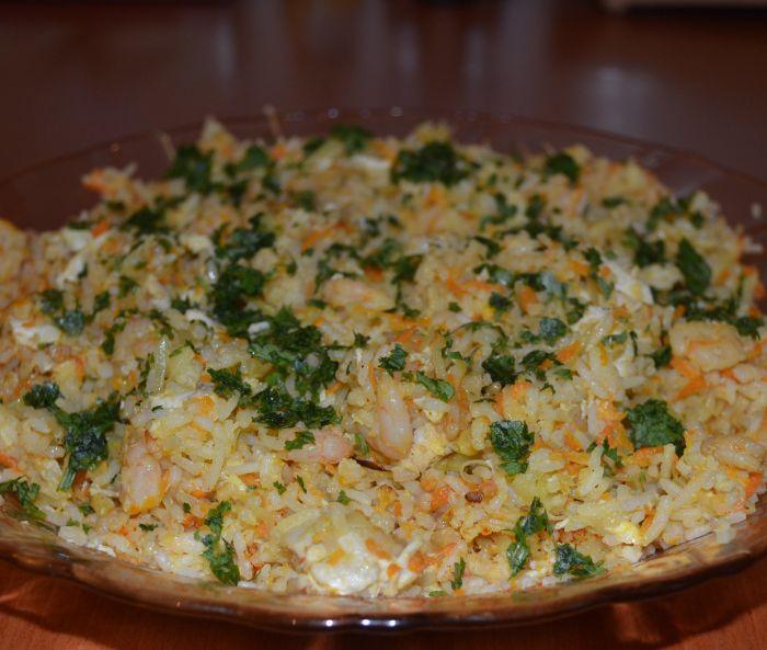 Рис по сингапурски рецепт с фото